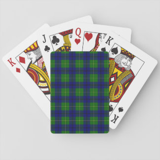Clan Johnston Tartan Poker Deck