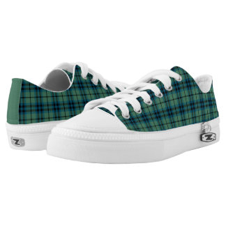 Clan Keith Ancient Tartan Canvas Low Tops