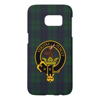 Clan Keith Crest & Modern Tartan Phone Case