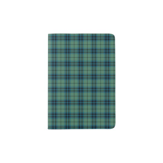 Clan Keith Light Green Ancient Scottish Tartan Passport