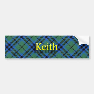 Clan Keith Scottish Bumper Sticker