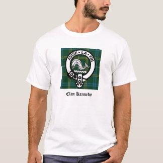 Clan Kennedy Crest Tartan T-Shirt
