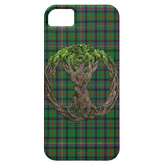 Clan Kennedy Tartan And Celtic Tree Of Life iPhone 5 Cases