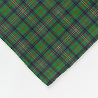 Clan Kennedy Tartan Fleece Blanket