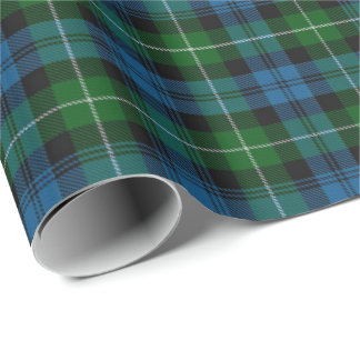 Clan Lamont Scottish Tartan Wrapping Paper