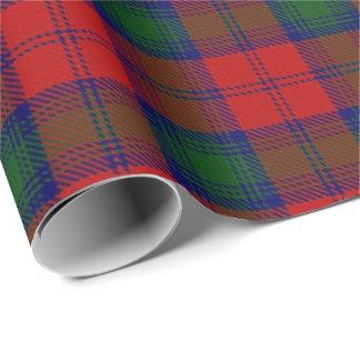 Clan Lindsay Lindsey Scottish Tartan Wrapping Paper