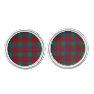 Clan Lindsay Tartan Cufflinks