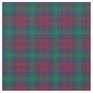 Clan Lindsay Tartan Fabric