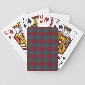 Clan Lindsay Tartan Playing Cards