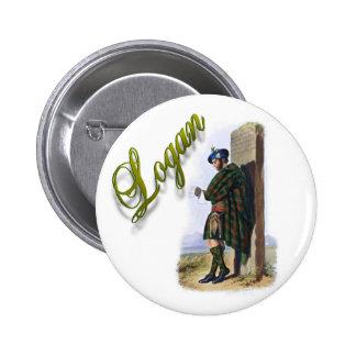 Clan Logan Scottish Dream Button