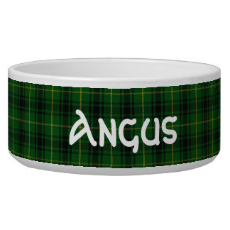 Clan MacArthur Custom Tartan Plaid Pet Bowl