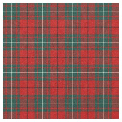 Clan MacAulay Tartan Fabric