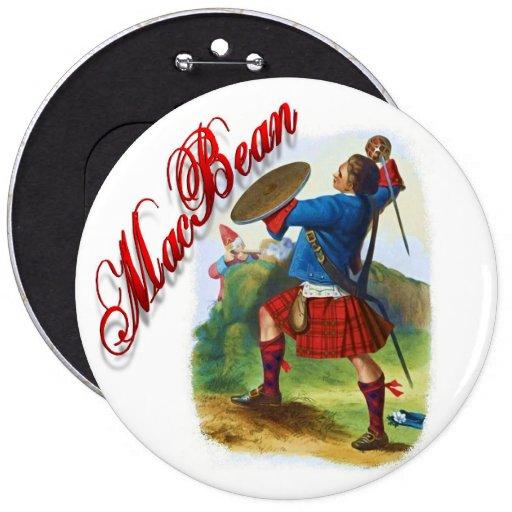 Clan MacBean Scottish Dream Button