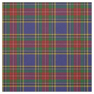 Clan MacBeth Scottish Tartan Plaid Fabric