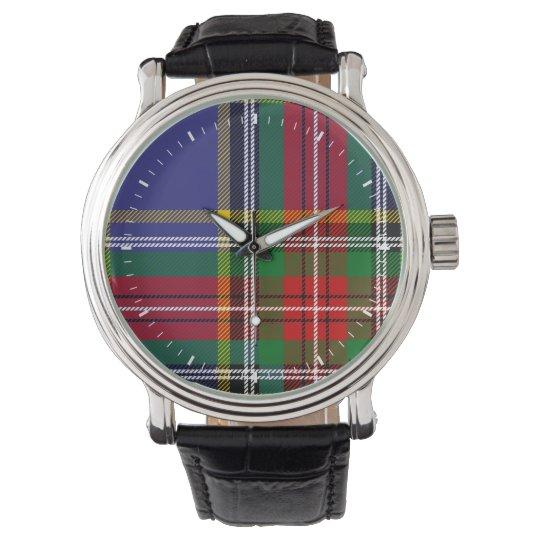Clan MacBeth Tartan Watch
