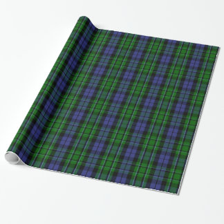 Clan MacCallum Tartan Wrapping Paper