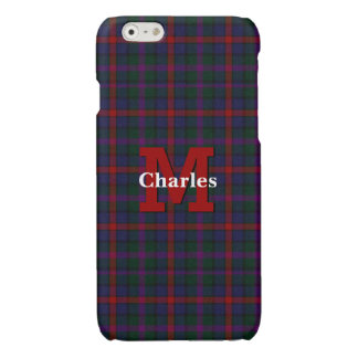 Clan MacCaughan Plaid Custom iPhone 6S Case iPhone 6 Plus Case