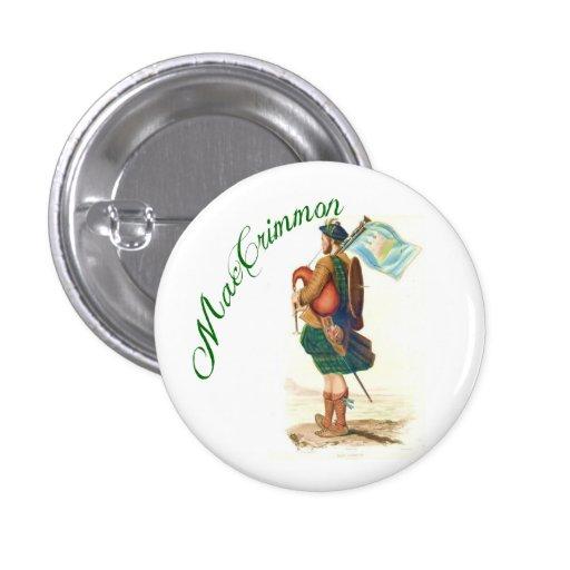 Clan MacCrimmon Scottish Button