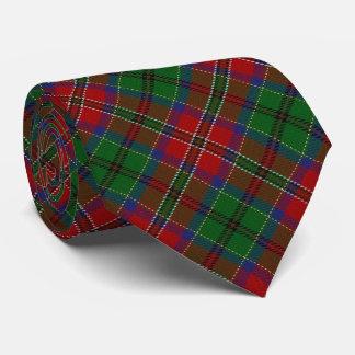 Clan MacCulloch Letter M Monogram Tartan Tie