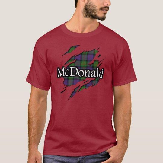 Clan MacDonald McDonald Tartan Spirit Shirt