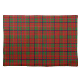 Clan MacDonald Of Glencoe Tartan Placemat
