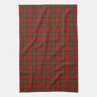 Clan MacDonald Of Glencoe Tartan Tea Towel
