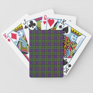 Clan MacDonald Of Ranald Tartan Bicycle Playing Cards