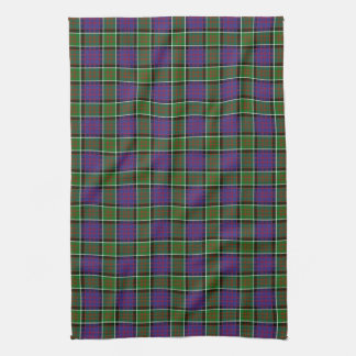 Clan MacDonald Of Ranald Tartan Tea Towel