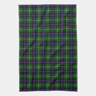 Clan MacDonald Of The Isles Tartan Tea Towel
