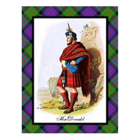 Clan MacDonald Scottish Dreams Postcard