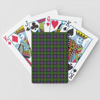 Clan MacDonald Tartan Bicycle Playing Cards