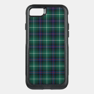 Clan MacDonald Tartan Navy Blue and Green Plaid OtterBox Commuter iPhone 7 Case