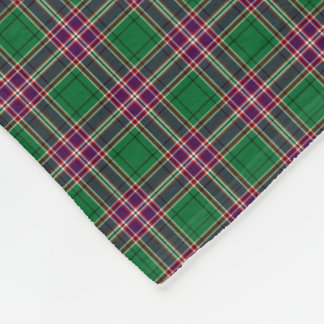 Clan MacFarlane Hunting Tartan Fleece Blanket