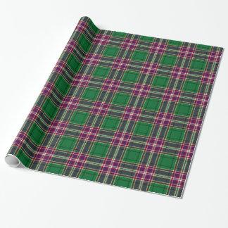 Clan MacFarlane Hunting Tartan Wrapping Paper