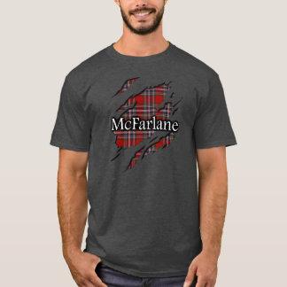Clan MacFarlane McFarlane Tartan Spirit Shirt