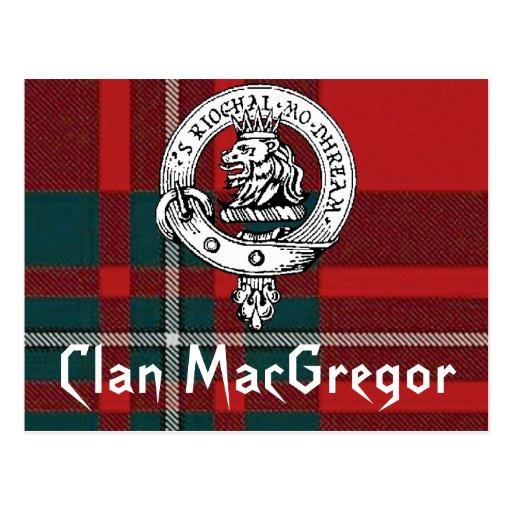Clan MacGregor Postcards