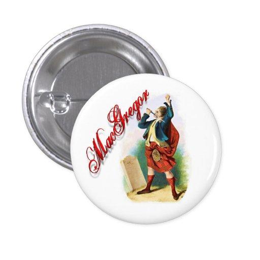 Clan MacGregor Scottish Dream Button
