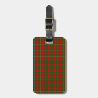 Clan MacGregor Tartan Luggage Tag