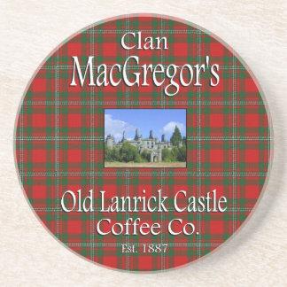Clan MacGregor's Old Lanrick Castle Coffee Co. Coaster