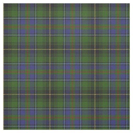 Clan MacInnes Scottish Tartan Plaid Fabric