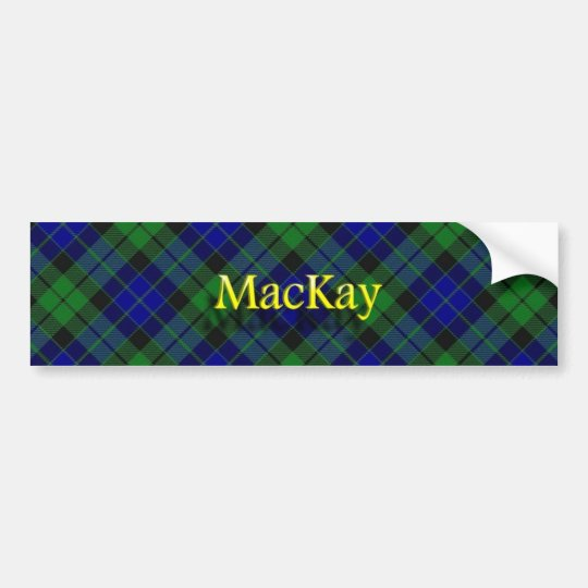 Clan MacKay Scottish Bumper Sticker