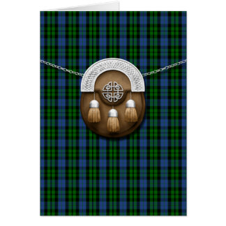 Clan MacKay Tartan And Sporran Card