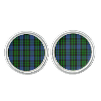 Clan MacKay Tartan Cuff Links