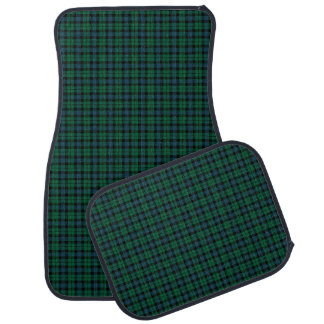Clan MacKay Tartan Green Plaid Car Mat
