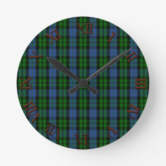 Clan MacKay Tartan Wallclock