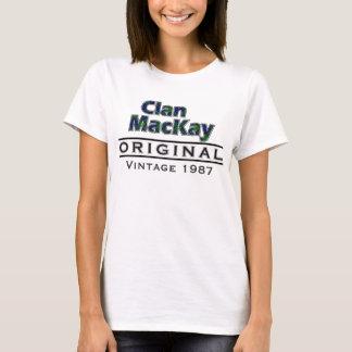 Clan MacKay Vintage Customize Your Birthyear T-Shirt