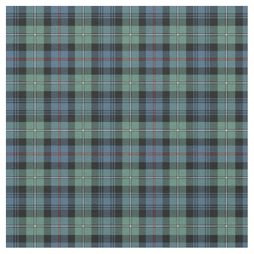 Clan Mackenzie Ancient Tartan Fabric