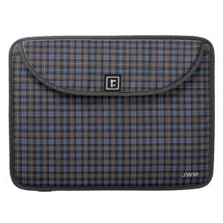 Clan Mackenzie Reproduction Tartan Monogram Sleeve For MacBook Pro