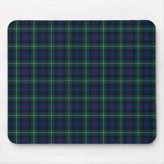 Clan Mackenzie Royal Blue and Forest Green Tartan