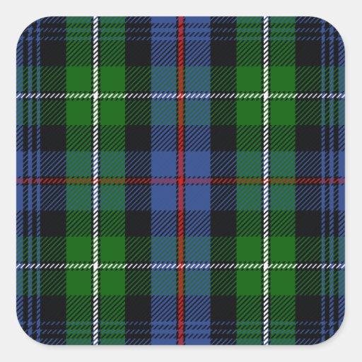 Clan MacKenzie Tartan Sticker